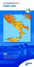 Wegenkaart Italië 8. Italië zuid   Anwb  
