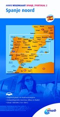 ANWB wegenkaart Spanje Portugal 2. Spanje noord | Anwb |