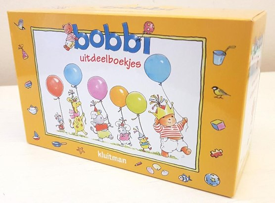 Bobbi uitdeelboekjes