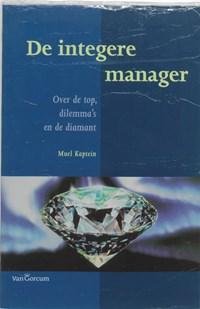 De integere manager | M. Kaptein |