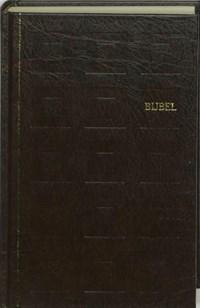 Bijbel huisbijbel nieuwe vertaling kunstleer kleursnede bruin   auteur onbekend  