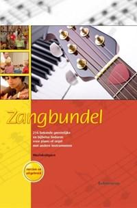 Zangbundel, muziekuitgave   auteur onbekend  