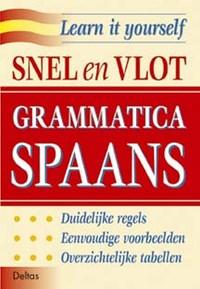 Snel en vlot grammatica Spaans   auteur onbekend  