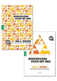 Boekhouden voor het hbo deel 2. Theorie- en opgavenboek | Gerard van Heeswijk ; Stef Stienstra ; Sascha Nieuwboer |