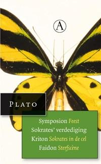 Symposium feest, Sokrates verdediging, Kriton sokrates in de dodencel, sterfscene uit Faidon   Plato  