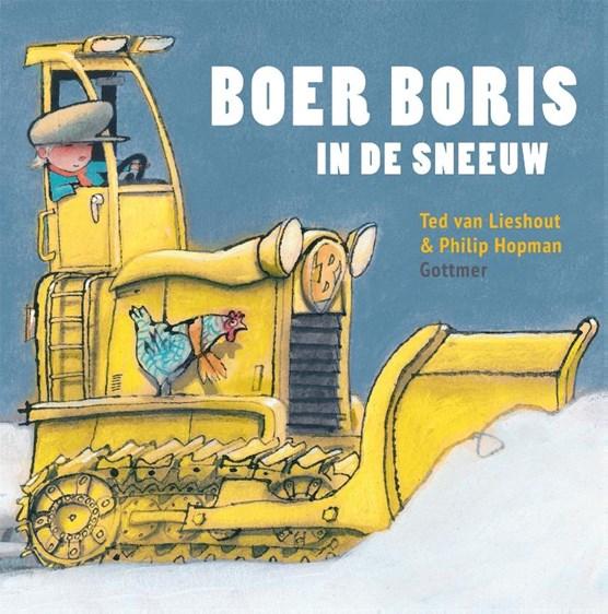 Boer Boris in de sneeuw