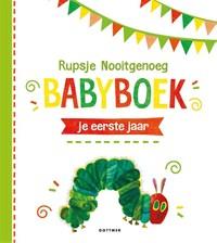 Rupsje Nooitgenoeg Babyboek | Eric Carle |