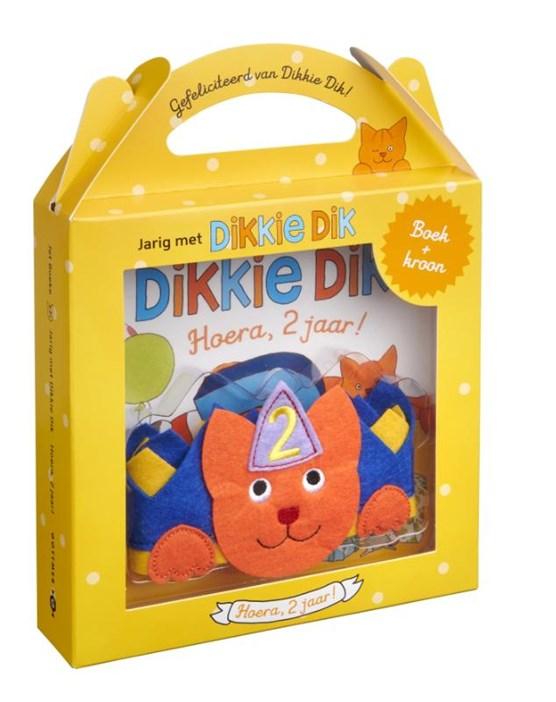 Jarig met Dikkie Dik - Hoera, 2 jaar!
