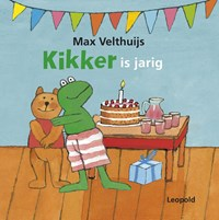 Kikker is jarig | Max Velthuijs |