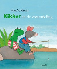 Kikker en de vreemdeling [GROOT] | Max Velthuijs |