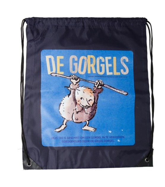 De Gorgels - gymtas blauw