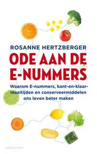 Ode aan de e-nummers   Rosanne Hertzberger  