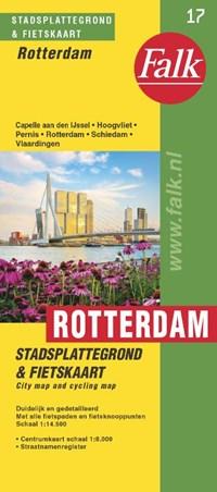 Rotterdam plattegrond   auteur onbekend  