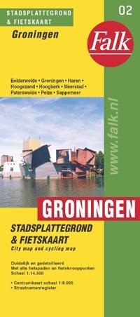 Groningen plattegrond   auteur onbekend  