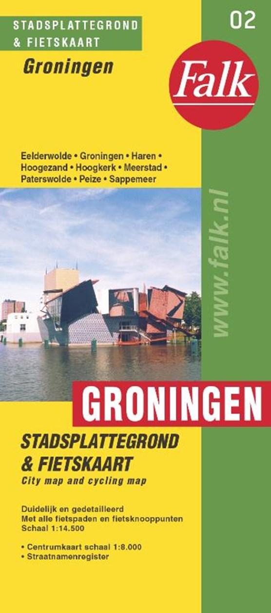 Groningen plattegrond