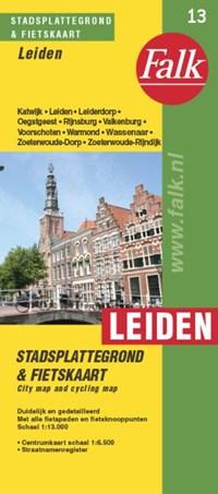 Leiden plattegrond | auteur onbekend |