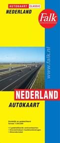 Autokaart Nederland Classic | auteur onbekend |