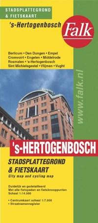 's-Hertogenbosch plattegrond   auteur onbekend  