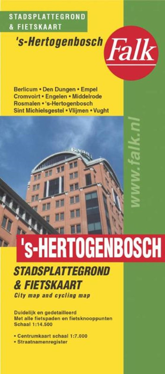 's-Hertogenbosch plattegrond