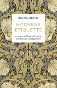 Moderne etiquette   Beatrijs Ritsema  
