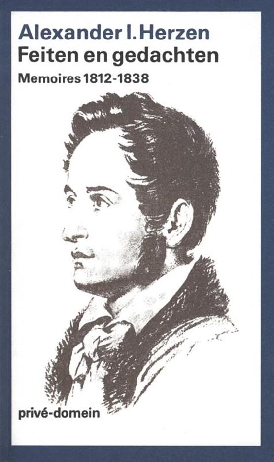 Feiten en gedachten Eerste boek 1812-38