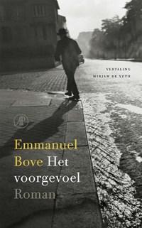 Het voorgevoel | Emmanuel Bove |