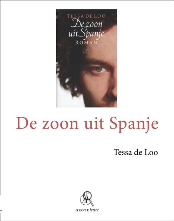 De zoon uit Spanje - grote letter