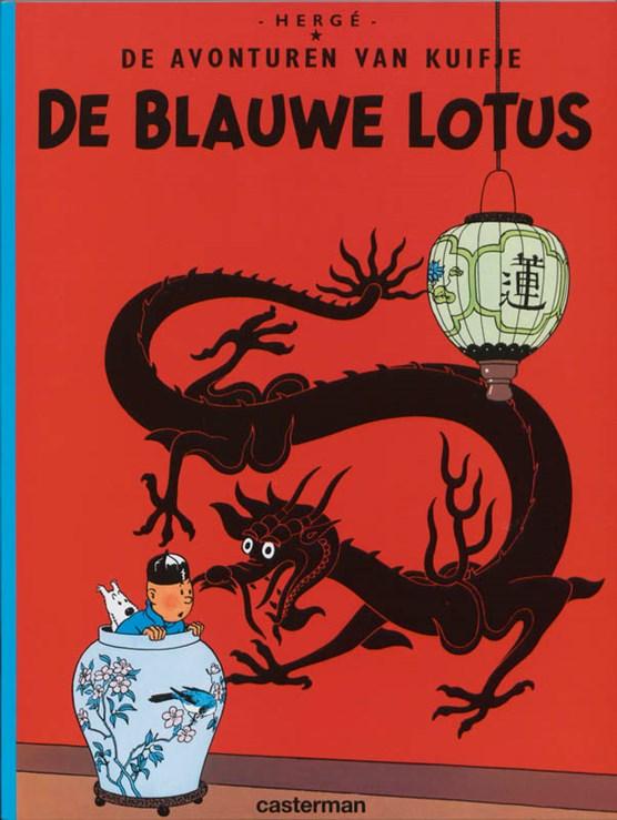 Kuifje 05. de blauwe lotus (zie ook isbn 9789030373247)