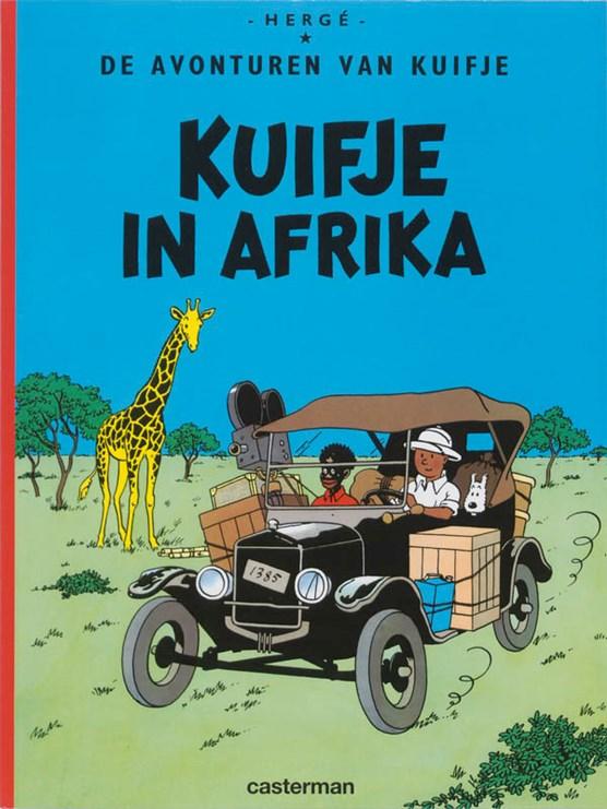 Kuifje 02. kuifje in afrika
