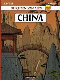 Alex, de reizen van 17. china   J. Martin  