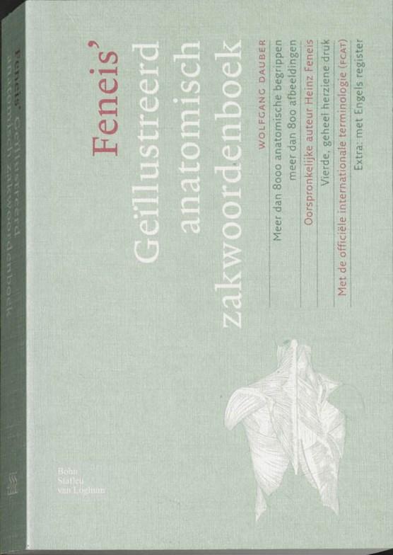 Geïllustreerd anatomisch zakwoordenboek