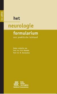 Het Neurologie Formularium   M. Vermeulen  