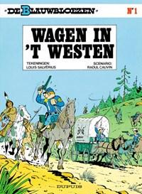 De blauwbloezen 01. wagens in 't westen | Louis cauvin Salverius & Raoul |