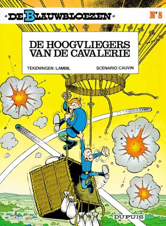 De blauwbloezen 08. de hoogvliegers van de cavalerie