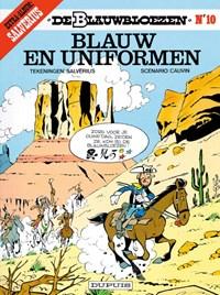 De blauwbloezen 10. blauw en uniformen | Louis Salvérius & Raoul Cauvin |