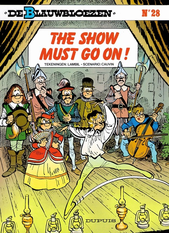 De blauwbloezen 28. the show must go on!