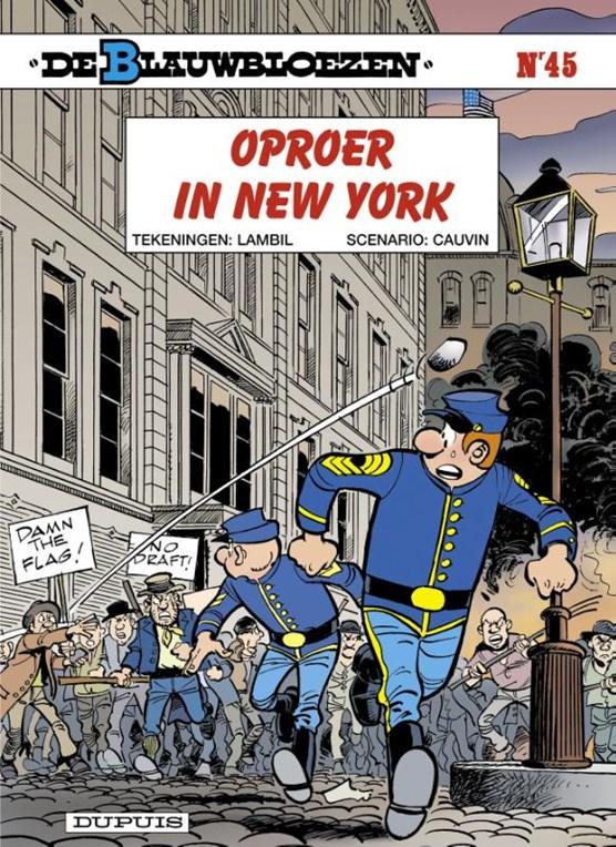 De blauwbloezen 45. oproer in new york