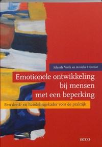 Emotionele ontwikkeling bij mensen met een beperking   J. Vonk & A. Hosmar  