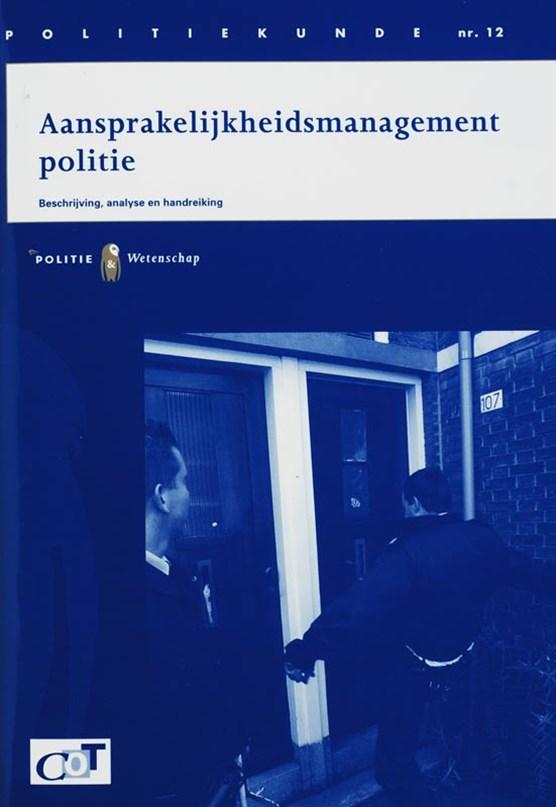 Aansprakelijkheidsmanagement politie