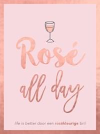 Rosé all day - cadeauboek | Peggy Jones |