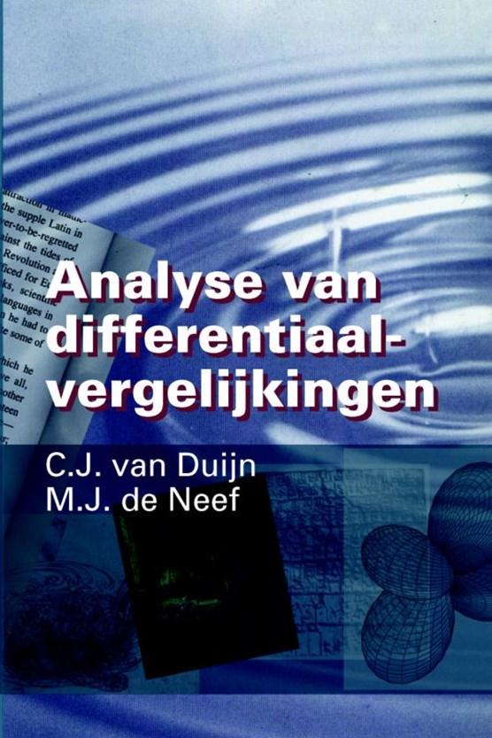 Analyse van differentiaalvergelijkingen