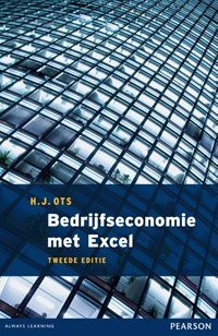 Bedrijfseconomie met Excel | H.J. Ots |