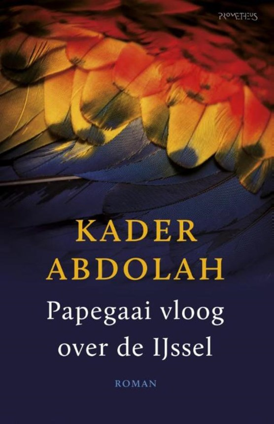 Papegaai vloog over de IJssel