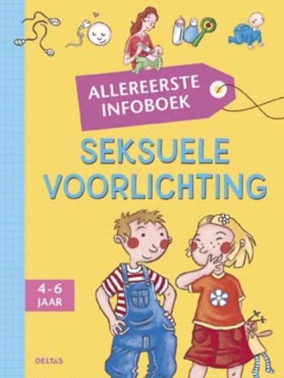 Allereerste infoboek - Seksuele opvoeding (4-6 j.)