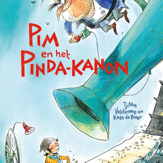Pim en het pinda-kanon