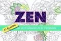Zen, 45 kaarten om in te kleuren en te versturen | auteur onbekend |
