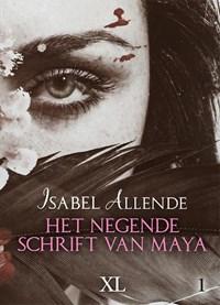 Het negende schrift van Maya - grote letter uitgave | Isabel Allende |