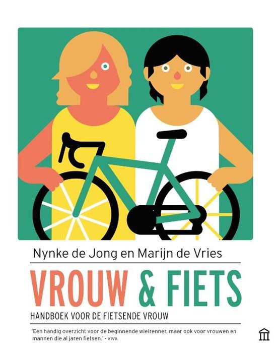 Vrouw en fiets