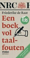 Een boek vol taalfouten | Friederike de Raat |