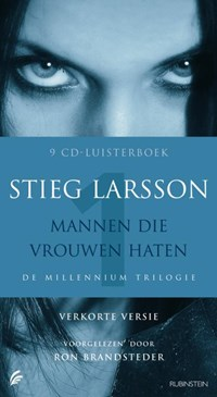 Mannen die vrouwen haten Luisterboek 8 CD's verkorte versie De millennium trilogie | Srieg Larsson |